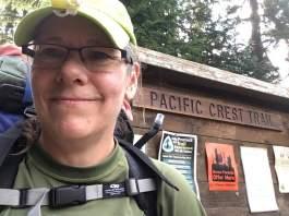 7-27 start of PCT hike