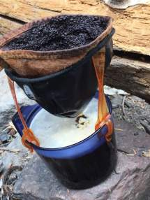 Backcountry coffee filter